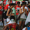 CEBU. Actress Ann Curtis at the finish line.