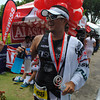 CEBU. Chris Aldeguer finishes his tough comeback Ironman race with a smile.