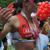 CEBU. Caroline Steffen at the finish line.