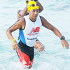 Filipino celebrity Kim Atienza joined the Cobra Energy Drink Ironman 70.3 Philippines held in Cebu. (Sun.Star Photo/Alex Badayos)