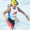 Filipino celebrity Kim Atienza joined the Cobra Energy Drink Ironman 70.3 Philippines held in Cebu. (Sun.Star Photo/Alex Badayos)