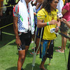 CEBU. Arnel Abba and partner Godfrey Taberna join the relay.