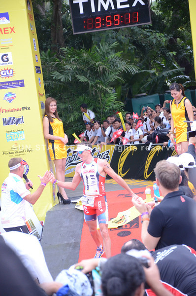 Australia's Pete Jacobs finished second at 03:59:09. (Iste Sesante-Leopoldo/Sun.Star Cebu)