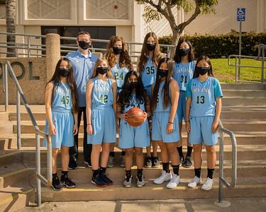 Irvine HS Girls BB-73