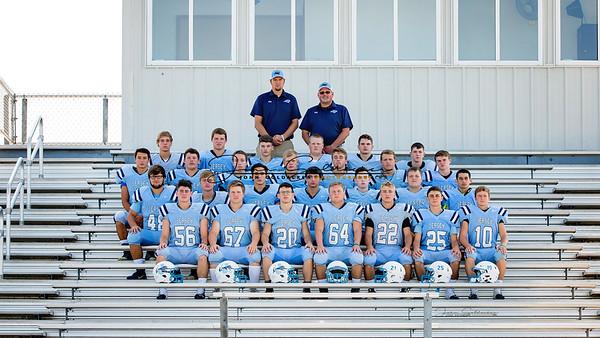 JCHS Football Team pics 2017