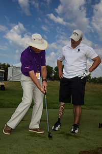 John Deere Classic 2012 Tuesday Wounded Warrior Club Fitting  JR Howell JRHowell@me.com