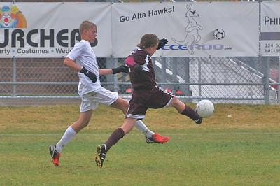 JHS Soccer vs Alta
