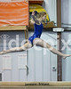 Clayton High's Jessica Joslyn performs on the balance beam. Johnston County prep gymnasts competed in an area meet in Smithfield, N.C. on Friday, December 5, 2014.