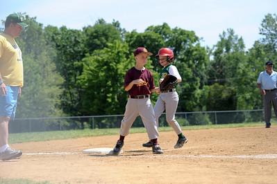 JPA Titan's 1st baseball game