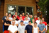 Seniors and their father's on a weekend retreat befor the season start.