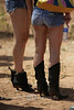 Bikers Bring in the Hotties - Jack Pine Gypsies Hill Climb Sturgis South Dakota - Photo by Pat Bonish