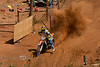 Exploding out of the Gate at the Jack Pine Gypsies Pro Hill Climb in Sturgis South Dakota - Photo by Pat Bonish