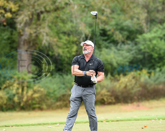 Dr. Peter Sirianni of Christus competes at the Jacksonville Chamber Golf Tournament on Friday. Christus was the Title Sponsor for the first-time event which also included a Golf Ball Drop, fish fry and entertainment.