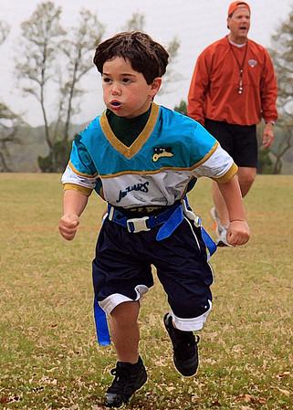 Jaguars Football PreK/K Spring 2008