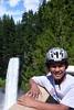 Jakob at Brandywine Falls Provencial Park, British Columbia Canada