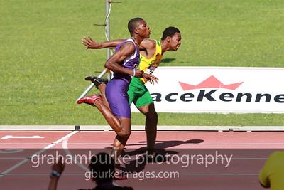 Boys Class 2, 200 meters sprint. The next Usain Bolt, the next Asafa Powell, the next Donald Quarrie