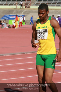 Yohan Blake - St. Jago High School (my old high school) @ 2008 Boys Championship in Kingston Jamaica. 2011 World Champion 100 Meters in a time of 9.92s
