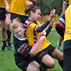 Miranda Llewellyn (being tackled by Allie Bos)