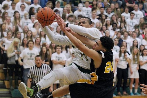 Jan. 23, 2015 - Boys Basketball: TC Central vs. TC West