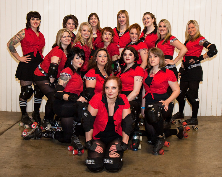 Betties and GNR team pics