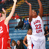1-11-14<br /> Kokomo High School girls basketball<br /> Kokomo's Alanis Jones shoots.<br /> KT photo | Kelly Lafferty
