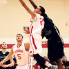 1-8-14<br /> IUK bball vs. SIU<br /> IUK's Jerome Campbell makes his way to basket.<br /> KT photo | Kelly Lafferty