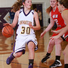 1-3-14<br /> Northwestern girls basketball<br /> Sydney Zeck tries to get past Twin Lakes defense.<br /> KT photo | Kelly Lafferty