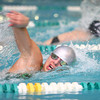 1-30-14<br /> Eastern swimming<br /> Avery Ewing in the 200 Yard Medley Relay<br /> KT photo | Kelly Lafferty