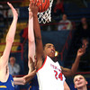 1-18-14<br /> Kokomo vs. Carmel basketball<br /> Mykal Cox puts up a shot for Kokomo.<br /> KT photo | Kelly Lafferty