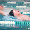 1-30-14<br /> Eastern swimming<br /> Shawn Tokarcik in the 200 Yard Medley Relay<br /> KT photo | Kelly Lafferty