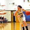 Brownstown/St. Elmo's Audriana Pruett drives the ball to the hole.