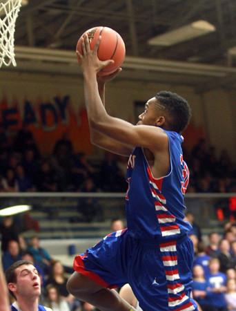 1-24-15<br /> Kokomo vs Tipton basketball<br /> Kokomo's Brevin beards shoots.<br /> Kelly Lafferty Gerber | Kokomo Tribune