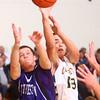 1-16-15<br /> Boys Basketball County Tournament<br /> Northwestern's Blake Oakley and Eastern's Braden Evans go after a rebound.<br /> Kelly Lafferty Gerber | Kokomo Tribune