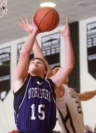 1-17-14 Northwestern vs Western county tournament championship Northwestern's Jacob Wagner Kelly Lafferty Gerber   Kokomo Tribune