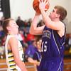1-16-15<br /> Boys Basketball County Tournament<br /> Northwestern' Jacob Wagner goes up for a shot.<br /> Kelly Lafferty Gerber | Kokomo Tribune