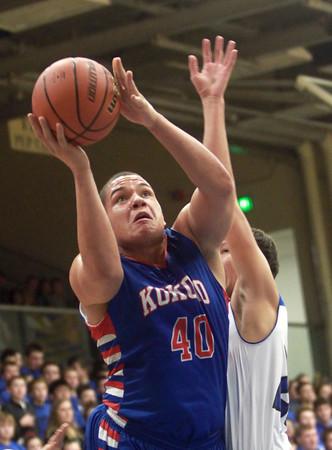 1-24-15<br /> Kokomo vs Tipton basketball<br /> Kokomo's Marcelle Kenner shoots.<br /> Kelly Lafferty Gerber | Kokomo Tribune
