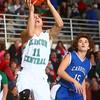 1-2-15<br /> Clinton Central vs Carroll basketball<br /> Clinton Central's Tyler Burns goes up for a shot.<br /> Kelly Lafferty Gerber | Kokomo Tribune