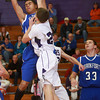1-8-13<br /> NWHS vs Frankfort bball<br /> Nathaniel Wissman grabs the rebound for Frankfort during Tuesday night's game against Northwestern.<br /> KT photo | Kelly Lafferty