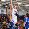 1-8-13<br /> NWHS vs Frankfort bball<br /> Northwestern's Chase Johnson goes for the basket during the game against Frankfort on Tuesday night.<br /> KT photo | Kelly Lafferty