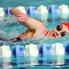 1-2-12<br /> KHS vs Cass Swimming<br /> Claire Crum swimming in the freesyle for Cass HS.<br /> KT photo | Tim Bath