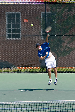 Jared Pinsky, winner of the 2007 MD State Tennis Championship