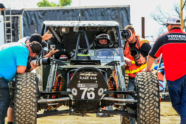 Jason Scherer takes win at the MetalCloak Ultra4 Stampeded race