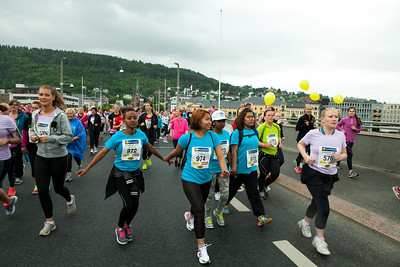 Jentebølgen 2014 Start