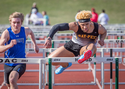20180405-164114 Jerry Crews Invitational - 100 High Hurdles - Boys