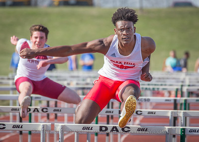 20180405-163908 Jerry Crews Invitational - 100 High Hurdles - Boys