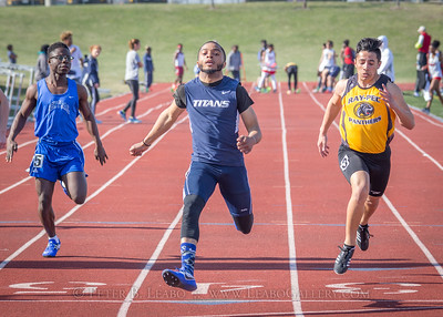 20180405-165249 Jerry Crews Invitational - 100 Meter Run - Boys