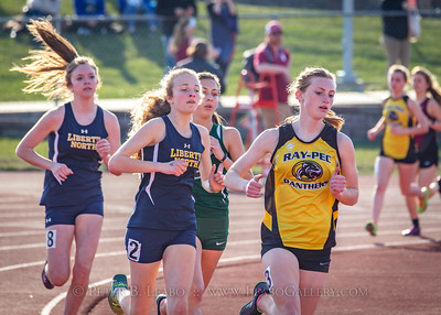 20180405-173722 Jerry Crews Invitational - 1600 Meter Run - Girls