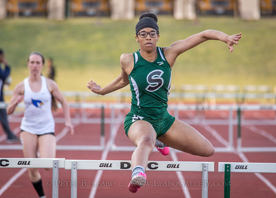 20180405-184913 Jerry Crews Invitational - 300 Intermediate Hurdles - Girls