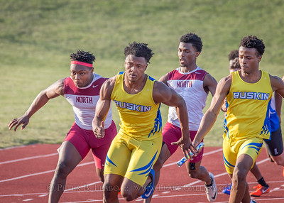 20180405-181150 Jerry Crews Invitational - 4x100 Relay - Boys