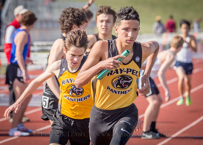 20180405-162221 Jerry Crews Invitational - 4x800 Relay - Boys